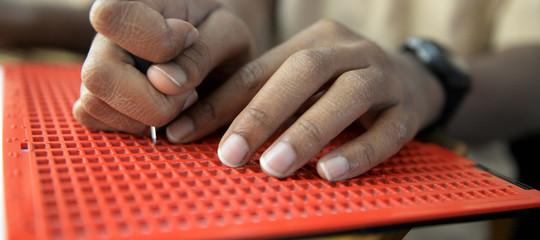 Il Braille sulle etichette per prodotti di consumo più inclusivi