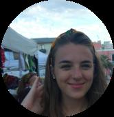 Maddalena Fabbi. Ha una passione per le altre culture, le piace viaggiare e dedicare il tempo libero al volontariato.