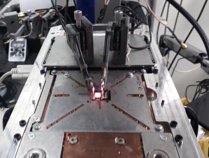 Lo strumento con cui si misura una cella solare