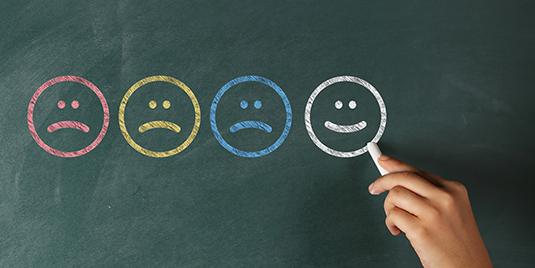 Depression-Optimism-Negativity-Pessimism