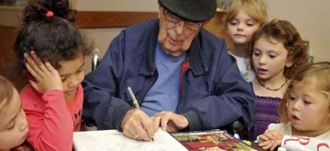 educazione intergenerazionale anziani case di riposo e bambini