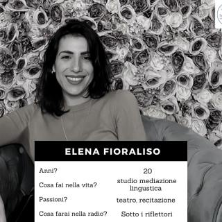Volto della redazione - Fioraliso Elena