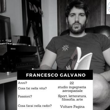 Volto della redazione - Galvano Francesco