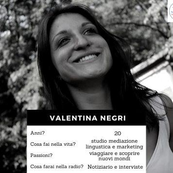 Volto della redazione - Negri Valentina