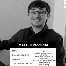 Volto della redazione - Pizzonia Matteo