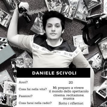 Volto della redazione - Scivoli Daniele