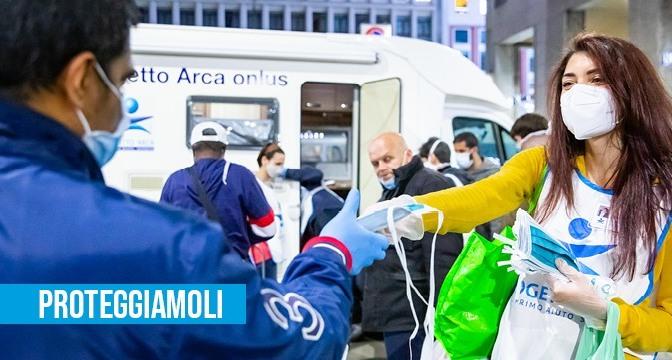 Un food truck solidale per i senzatetto di Milano
