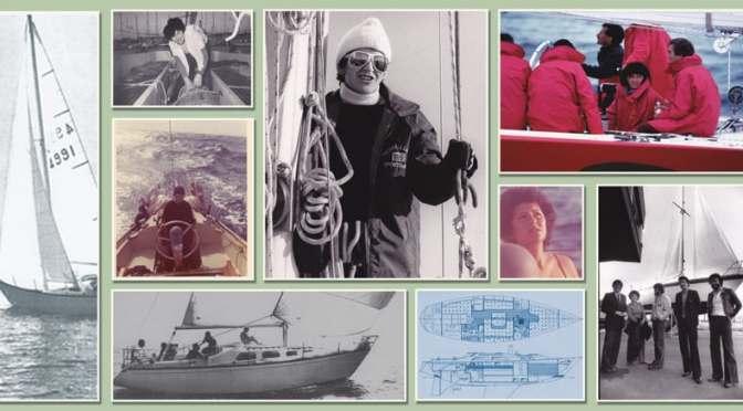 Una donna, una barca e l'oceano